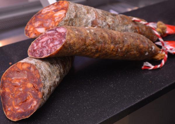 Salchichón y Chorizo ibérico de bellota D.O. Guijuelo Carlos Macias Salamanca