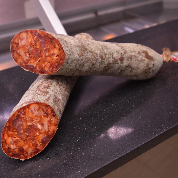 Chorizo ibérico cular Frades de la sierra Carlos Macias Salamanca