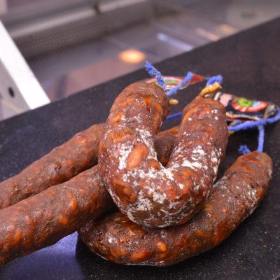 Morcilla de calabaza con magro de cerdo ibérico Carlos Macias Salamanca