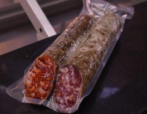 Chorizo de la Alberca envasado al vacío Carlos Macias Salamanca